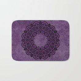 Circle in Purple Bath Mat