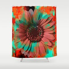 Lysergic Flower Shower Curtain