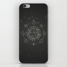 Moon, sun and elements iPhone & iPod Skin