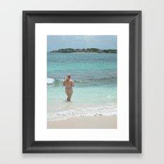 Sea Goddess Framed Art Print