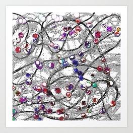 Celluloid Desire Art Print
