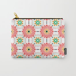 morrocan pink mandala pattern no4 Carry-All Pouch