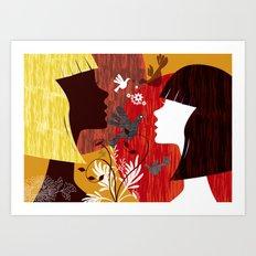 Charade 01 Art Print