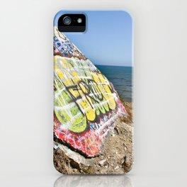 Sunken City Graffiti iPhone Case