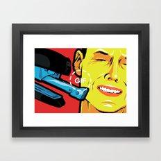 The Stapler Framed Art Print