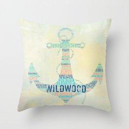 It is Wild in Wildwood Throw Pillow