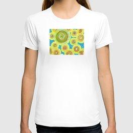Circular Sky Lights T-shirt