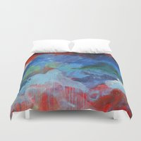 montreal Duvet Covers featuring Montreal #3 by DANiELLE