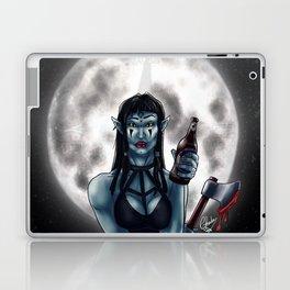 Brewed at midnight Laptop & iPad Skin