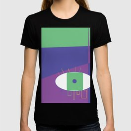 rain bow eye T-shirt