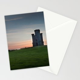 Sunset at Paxton's Tower Stationery Cards