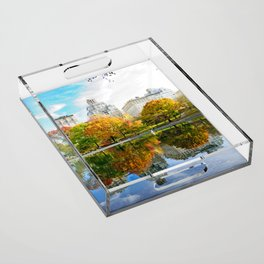 City's Autumn Acrylic Tray
