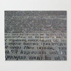 ground texture Canvas Print