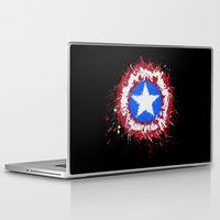 shield Laptop & iPad Skins featuring The Shield by DanielBergerDesign