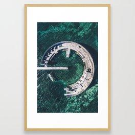 Kastrup Sea Bath Framed Art Print