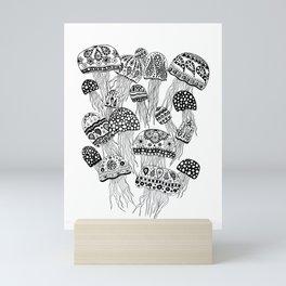 Upward & Onward BW Mini Art Print