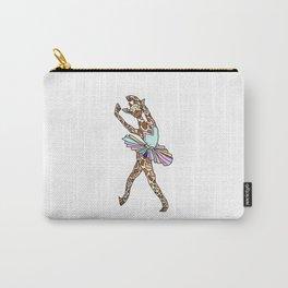 Giraffe Ballerina Tutu Carry-All Pouch