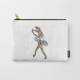Giraffe Ballerina Tutu Carry-All Pouch