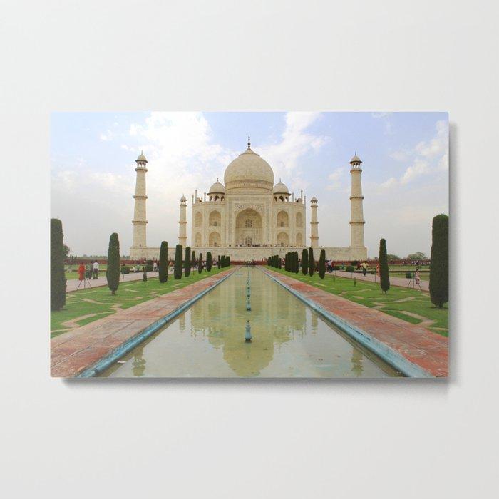 The Taj Mahal Metal Print