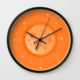 Planet B - Trappist System Wall Clock