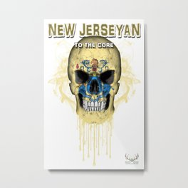 To The Core Collection: New Jersey Metal Print
