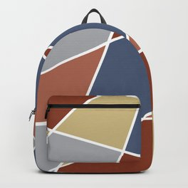 Cool Stained Tiles Backpack