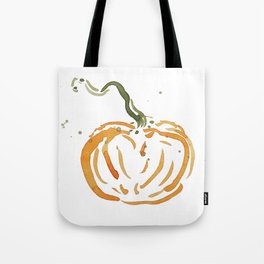 Abstracted Pumpkin Tote Bag