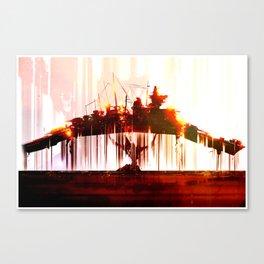 Ship Lift Canvas Print