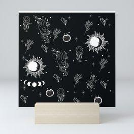 halloween witch magic Mini Art Print