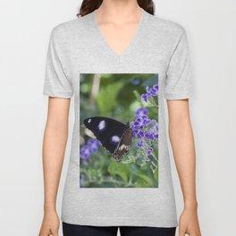 Common Eggfly Butterfly Unisex V-Neck