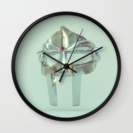 The MF DOOM Series - Platinum Wall Clock