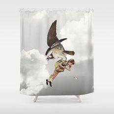 third beat II Shower Curtain