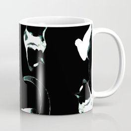 benji the cat 8 black and white Coffee Mug