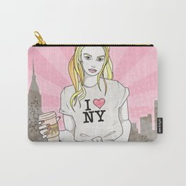I Heart New York Girl Carry-All Pouch