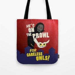 Careless Owls Tote Bag