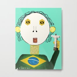 The Brazilian Metal Print