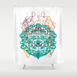 doodles Shower Curtain