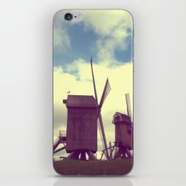 Wind mills iPhone Skin