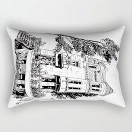 Fantasy of Saint Denis and Roy Rectangular Pillow