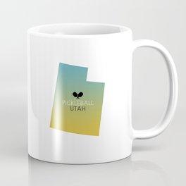 Utah Pickleball Sunset Coffee Mug