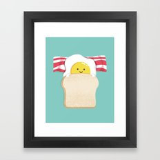 Morning Breakfast Framed Art Print