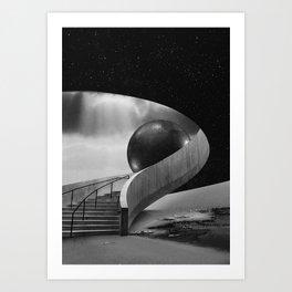 The Hall II Art Print