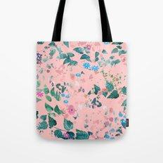Centrifugal Garden Pink Tote Bag