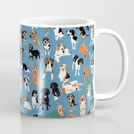 Hound District blue Coffee Mug
