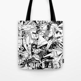 Organismo Meccanico Tote Bag