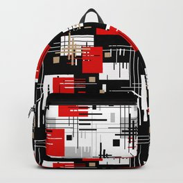 Abstract pattern Retro 2 Backpack