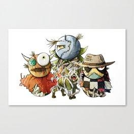 Halloween Pets Canvas Print