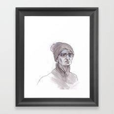 Narrow Water Framed Art Print