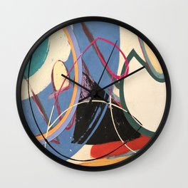 Unusually Composed Wall Clock