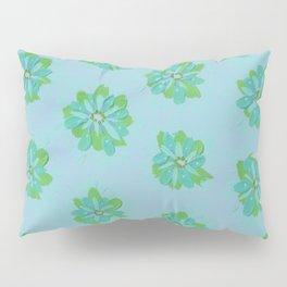 Pistachio Petal Rose Pillow Sham